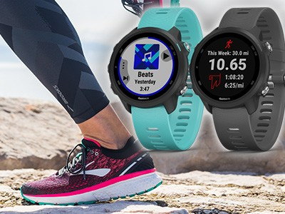 Brooks & Garmin promo dan