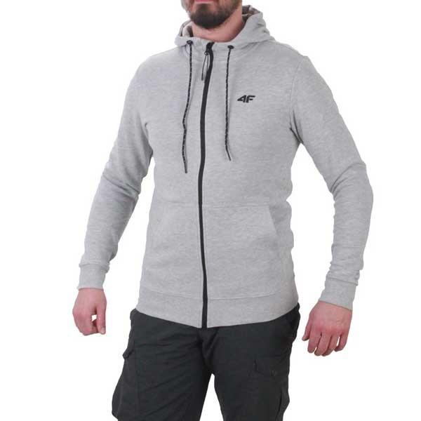 0d48fc03ce 4F moški pulover Midshop Grey.